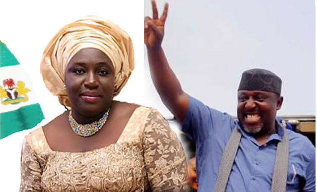 Rochas Okorocha and sister