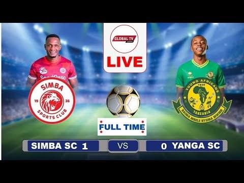🔴LIVE:Simba SC vs Yanga SC Fainali ya Azam Sports Federation Cup 2021/21