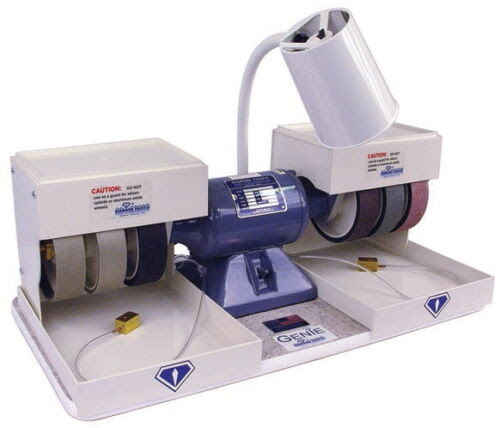 NEW-Diamond-Pacific-GENIE-GEM-MAKER-6-034-Lapidary-Grinder-Polisher-The-RockPile