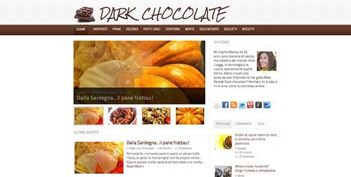 Made by girls: Dark chocolate