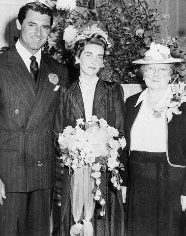 "Cary Grant marries Barbara Hutton, heiress to the Woolworth fortune and one of the richest women in the world.  The married couple was dubbed ""Cash and Cary"". They divorced two years later but remained friends."