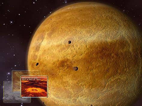 venus  space survey screensaver  animated