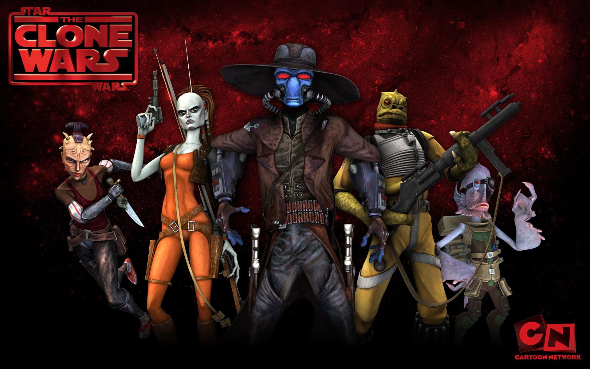 Bounty Hunters From The Clone Wars Desktop Wallpaper