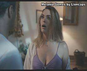 Melania Gomes sensual no filme português de 2019 Ladrões de tuta e meia