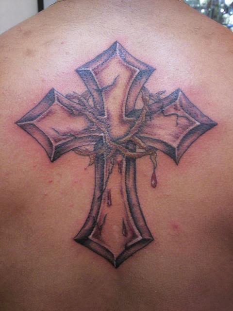 Cross Thorn Crown Tattoo Tattoomagz