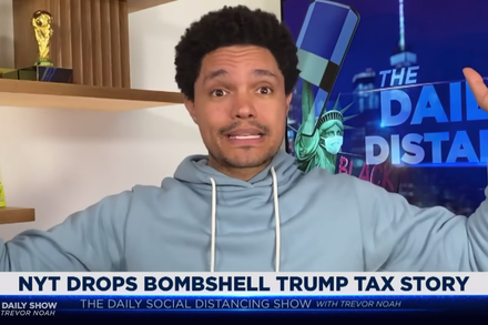 TREND ESSENCE:Late Night Weighs In on Trump's Taxes