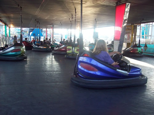 Erie County Fair: Bumper cars