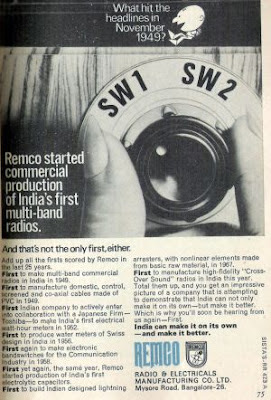 Ad for Remco Radio