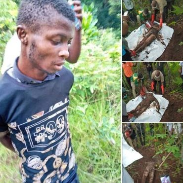Gist: Nigerian Police Arrested Boy Who kills and buries his cousin over N2m he got from land sales in Edo State