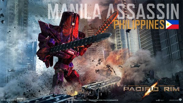 My own PACIFIC RIM Jaeger...known as the Manila Assassin.