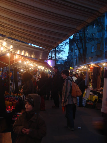 Weihnachtsmärt Röschibachplatz Zürich Wipkingen 28.11.09