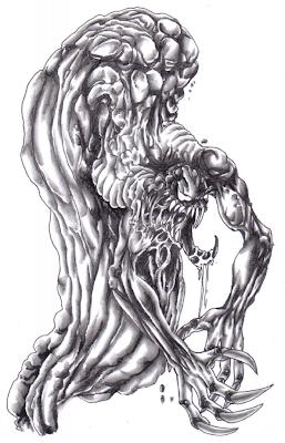 Fantasy Demon Art Drawing