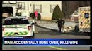 Husband accidentally runs over and kills wife on Valentine's Day in Pennsylvania