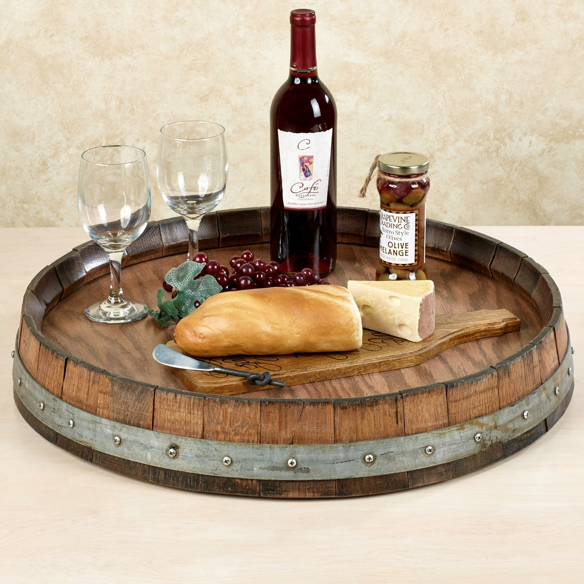 Kitchen Dining Sets Best Wine Barrel Lazy Susan For Furniture