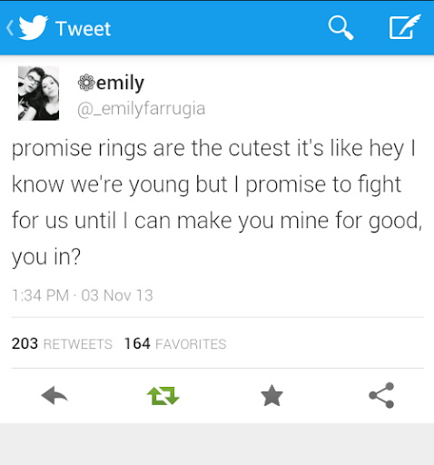 Ring quotes promise 70 Couple