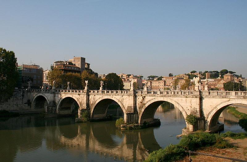 File:0 Tibre - Ponte Sant'Angelo - Rome (1).JPG