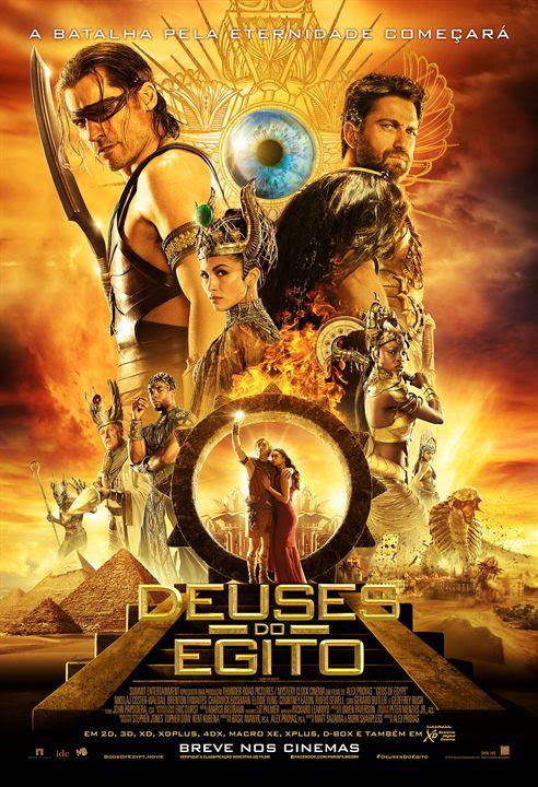 Deuses do Egito : Poster