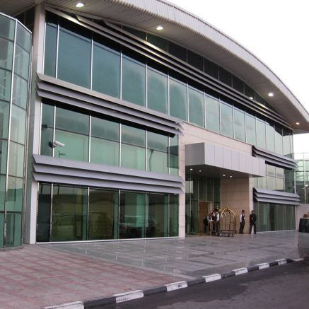 Qatar lounge exterior