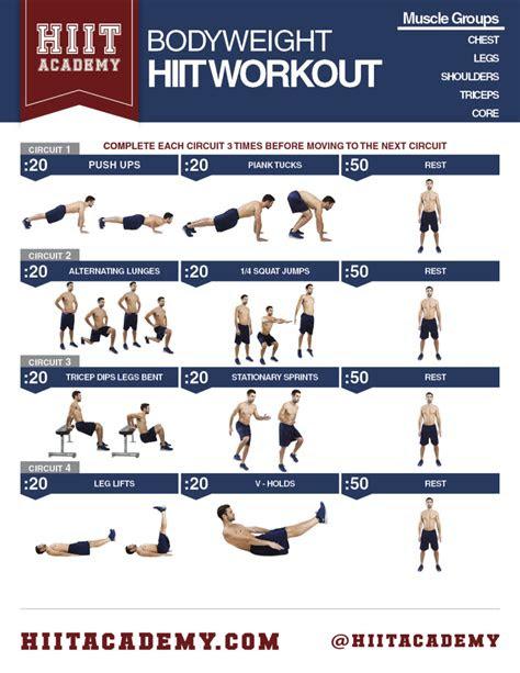 total bodyweight hiit workout hiit academy hiit