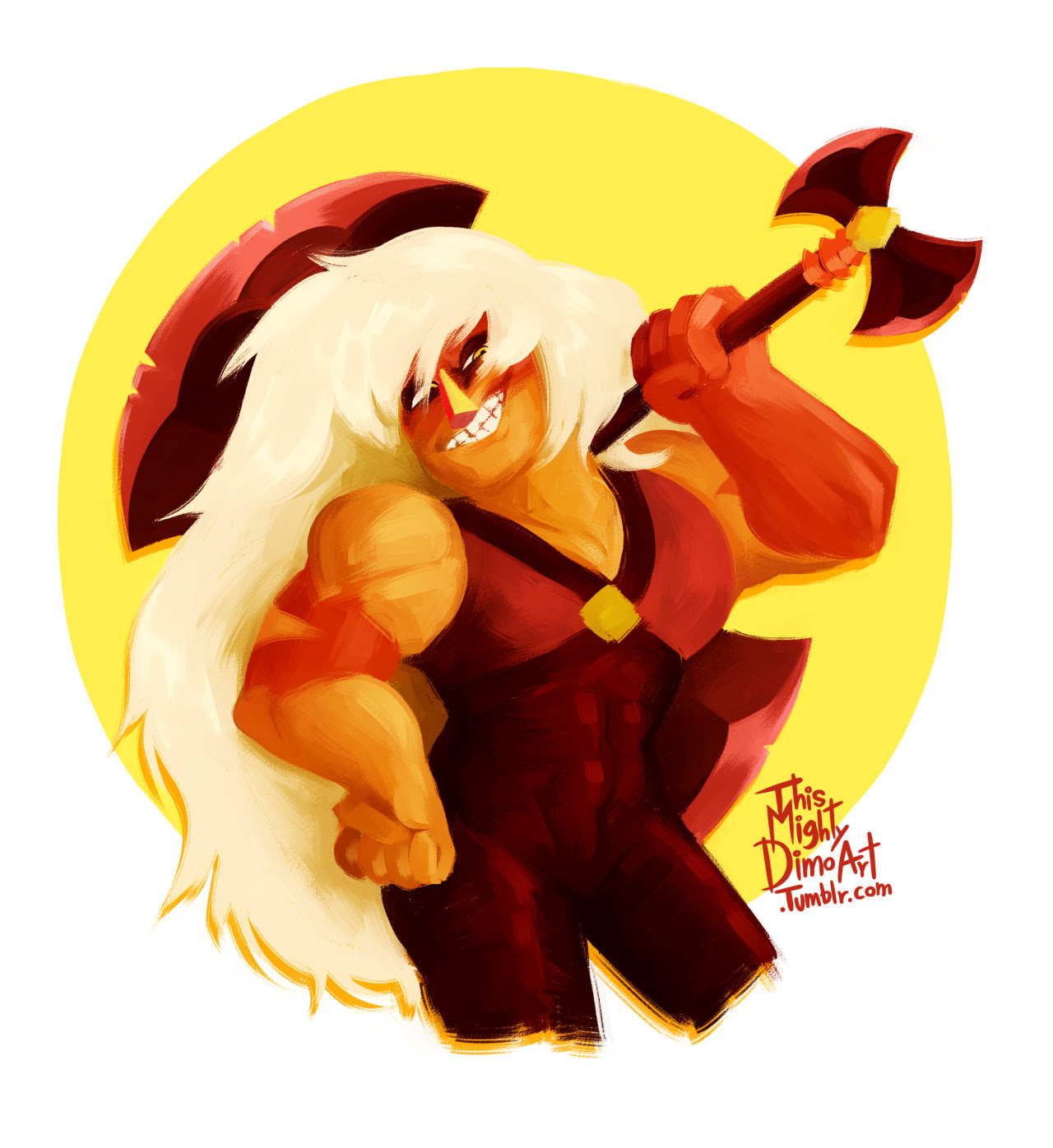 when I do this stuff is when I know how low I'm on my level of digital paiting becuase it take me so longggggg, anyways, have a Jasper becuase I love her