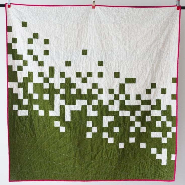Pixel Pusher quilt design