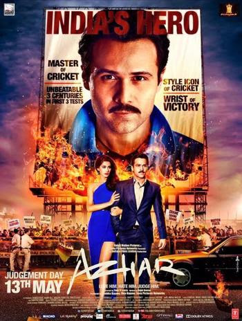 Azhar 2016 Hindi 480P BrRip 350MB, hindi movie azhar 2016 300mb brrip bluray 480p hd dvdrip free download or watch online at world4ufree.be
