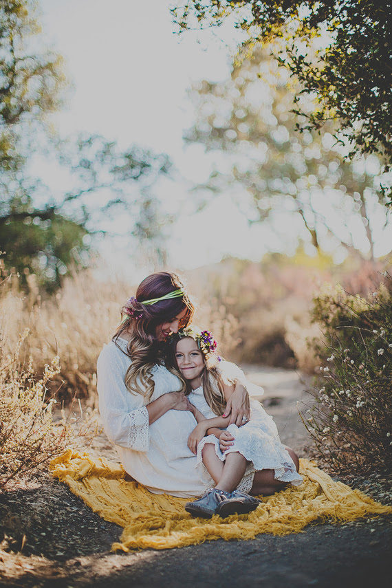 Ventura Maternity Photography Mother Daughter Photography Wild Whim