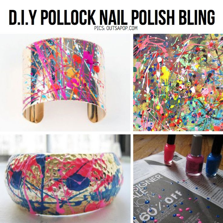 Pollock DIY Idea