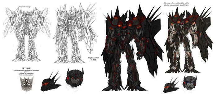 More fan art depicting Jetfire...the Decepticon-turned-Autobot who will be featured in TRANSFORMERS: REVENGE OF THE FALLEN.