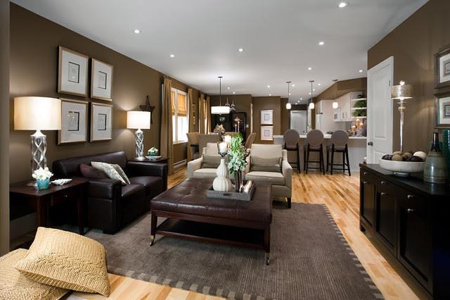 Jane Lockhart Open Concept Living Room - Modern - Living ...