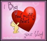 Big Red Puffy Heart