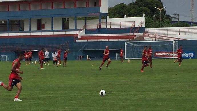 Fortaleza, treino (Foto: Divulgação/Fortaleza Esporte Clube)