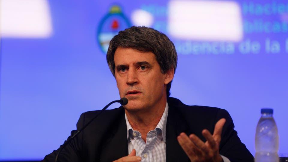 El ministro de Hacienda y Finanzas Públicas, Alfonso Prat Gay foto: Archivo