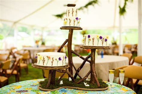 Rustic Wedding Ideas Woodland Weddings by Etsy tiered cake