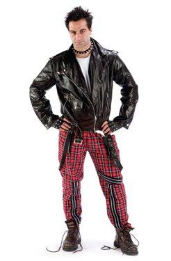 Tartan Punk Bondage Trousers