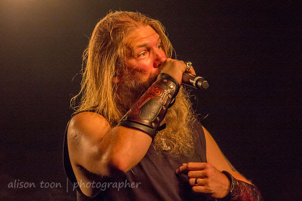 Johan Hegg, vocals, Amon Amarth, Ace of Spades, Sacramento