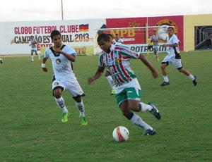 Globo FC x Baraúnas, no Estádio Barretão (Foto: Carlos Guerra Júnior/Divulgação)