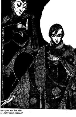 Harry Clarke illustration for von Goethe's Faust