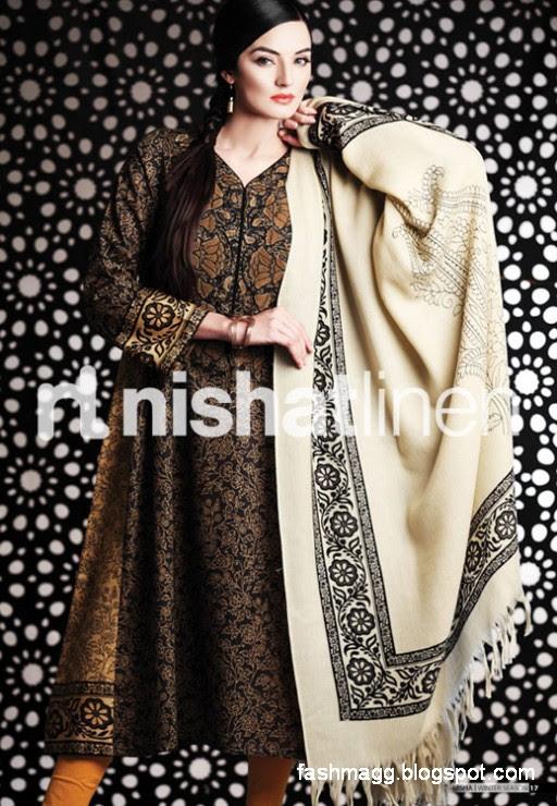 Nishat-Linen-Winter-Dresses-Collection-2013-Nishat-Linen-Fancy-Frocks-Shalwar-Kamiz-5