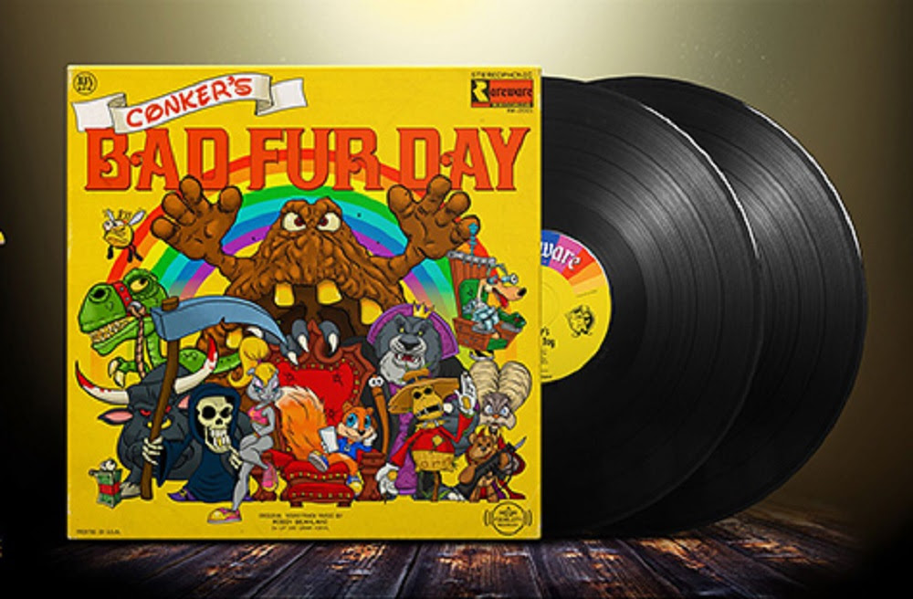 The music of Rare including Battletoads, Conker and Viva Pinata is coming to vinyl screenshot