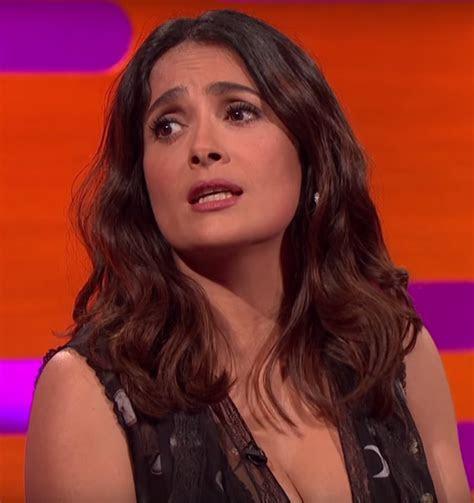 Salma Hayek 'Graham Norton Show' 2016 Interview (VIDEO)
