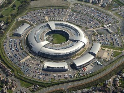 Vista aérea del centro de escuchas de la inteligencia británica (GCHQ).