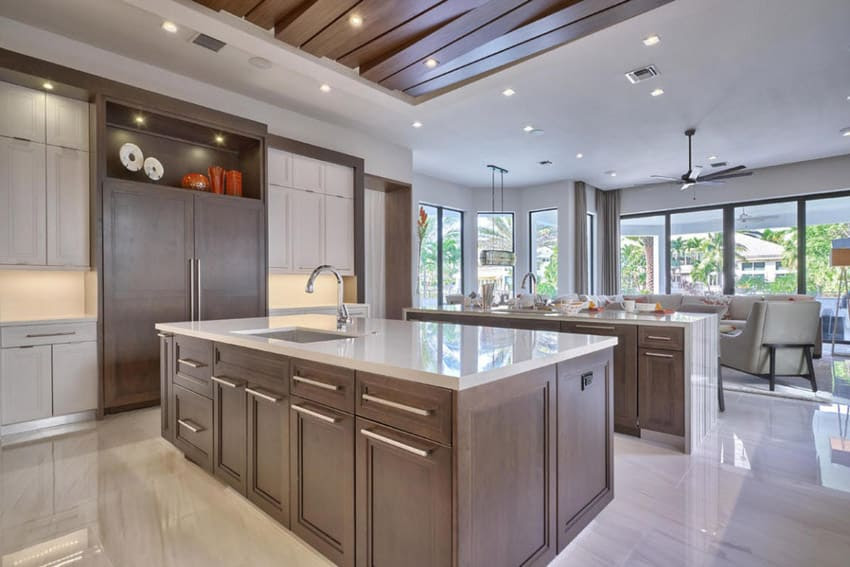 High End Contemporary Kitchen Cabinets - hungrylikekevin.com