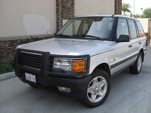 Find used 1998 Land Rover Range Rover HSE 4.6 Very Clean ...