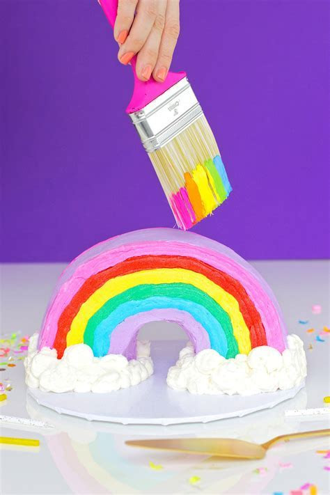 Rainbow Bundt Cake   Studio DIY
