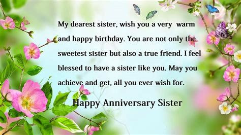 Happy Anniversary Wishes For Sister   www.imgkid.com   The