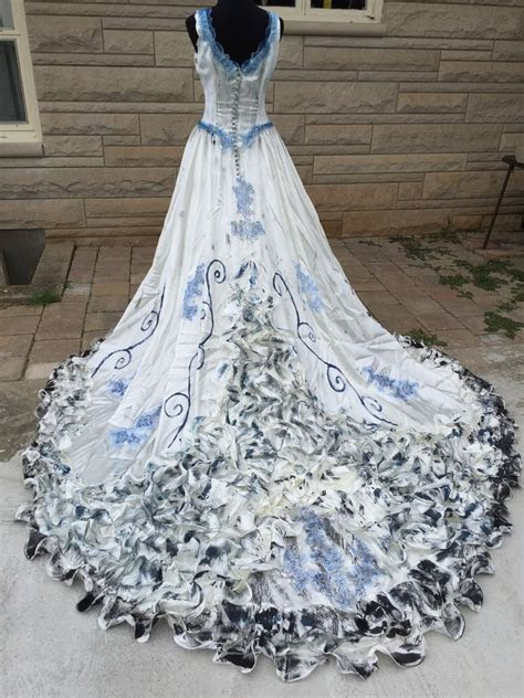 Details about FOREST fairy wedding dress COSTUME size 2 P