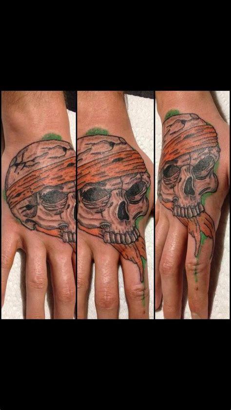 quick hand piece skull tattoo tattoos skull