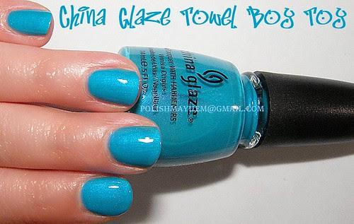 China Glaze Towel Boy Toy