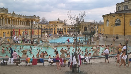 European bucket list, what's on yours? Visiting the Thermal baths in Budapest